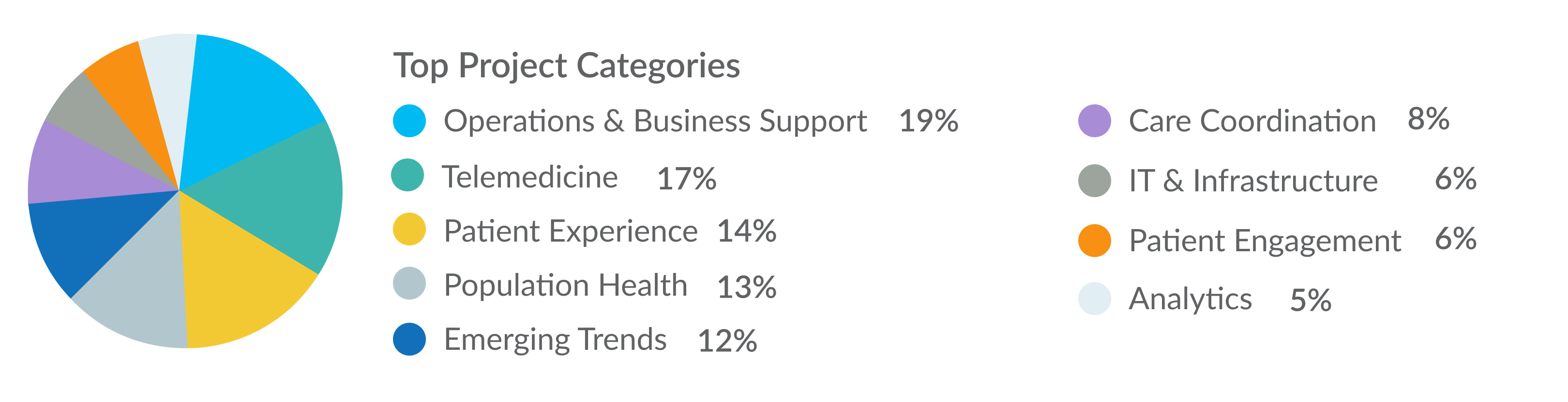 Top Project Categories