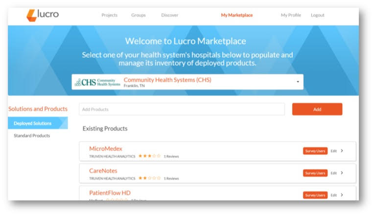 Lucro My Marketplace